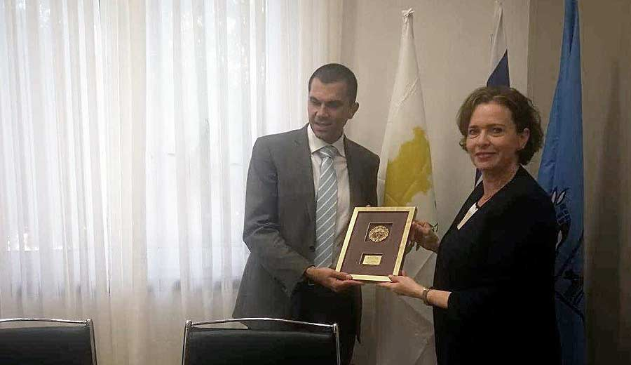 Meet in Haifa with the Deputy Minister of Tourism of Cyprus